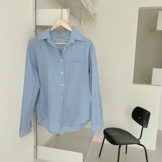 CHERRYKOKO(チェリーココ) - Pocket-Patch Plaid Shirt