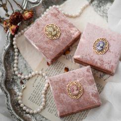 MOMENT OF LOVE - Velvet Jewelry Box