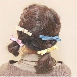 Miss Max - 布艺蝴蝶结髪夹