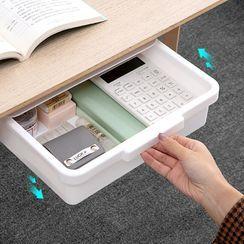Home Simply - 塑膠黏貼桌面收納架