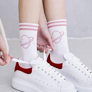 Niseko - Striped Crew Socks