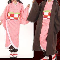 Comic Closet - Demon Slayer  Kamado Nezuko Cosplay Costume