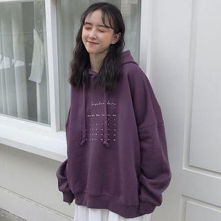 Iduna(イデュナ) - Calendar Printed Hoodie