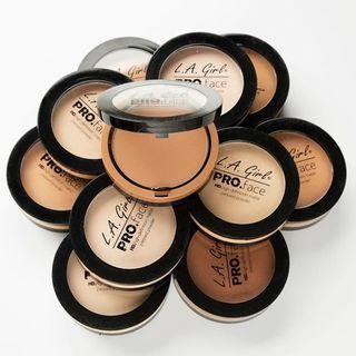 L.A. Girl Cosmetics - Pro Face Matte Pressed Powder (15 Colors)