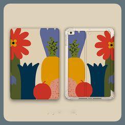 Roccia - Floral Print iPad Case