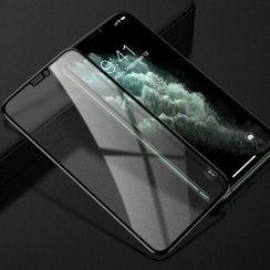 Drawnin - 9D Tempered Glass Screen Protector Film - iPhone 11 Pro Max / 11 Pro / 11 / XS Max / XS / XR / X / 8 / 8 Plus / 7 / 7 Plus