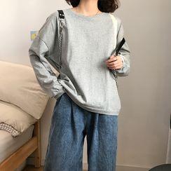 monroll - Plain Long-Sleeve T-Shirt