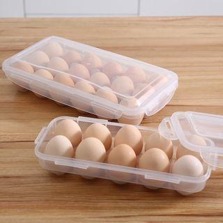 Popcorn - Plastic Egg Storage Box (10 Grids / 18 Grids)