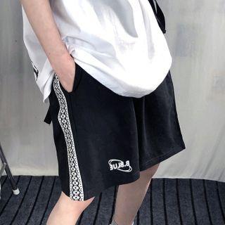 LINSI - Logo Wide-Leg Shorts