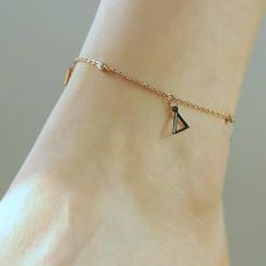 Tenri - Stainless Steel Triangle Anklet