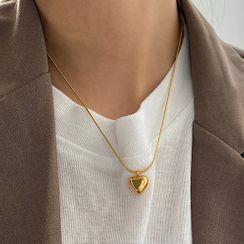 Betsuno(ベツノ) - Heart Pendant Necklace