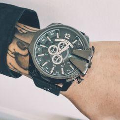 InShop Watches - 仿皮帶式手錶