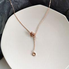 Yambo - Hoop Pendant Necklace