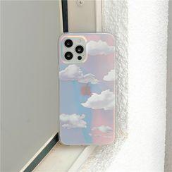 Keekulu - Cloud Holographic Phone Case - iPhone 13 Pro Max / 13 Pro / 13 / 13 mini / 12 Pro Max / 12 Pro / 12 / 12 mini / 11 Pro Max / 11 Pro / 11 / SE / XS Max / XS / XR / X / SE 2 / 8 / 8 Plus / 7 / 7 Plus