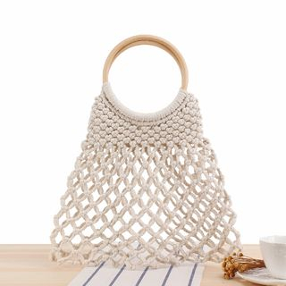 STYLE CICI - Woven Tote Bag / Pouch / Set