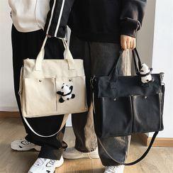 SUNMAN(サンマン) - Top Handle Canvas Crossbody Bag