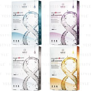 MIRAE - EX 8 Minutes Mask 5 pcs - 4 Types