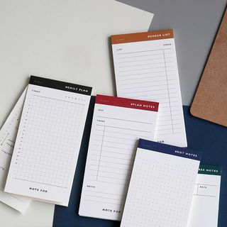 Aether - Small Planner Memo Pad (various designs)