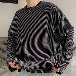 DragonRoad - Long-Sleeve Striped T-Shirt