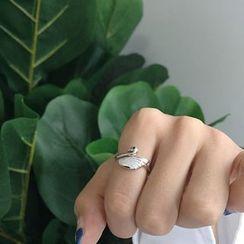 Krishya - 925纯银天鹅戒指