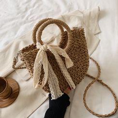 BAGSHOW - 编织斜挎包