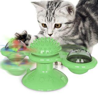 Cissilli - 吸盤旋轉寵物玩