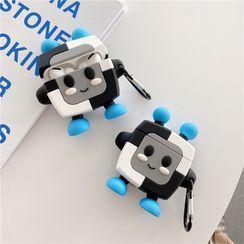 Jaguara - Robot Cartoon Silicone AirPods Case Cover
