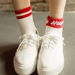 Pouffle - 字母襪