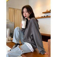 chuu - Daily Basic Sweatshirt in 22 Colors