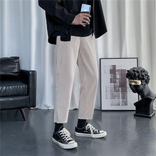 Plummie - High-Waist Straight Cut Dress Pants