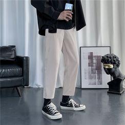 Plummie - 高腰直筒西褲