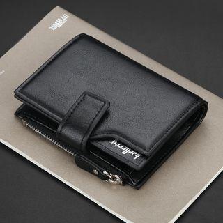 ETONWEAG - Faux Leather Trifold Wallet