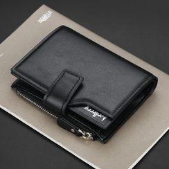 ETONWEAG(エトンウィーグ) - Faux Leather Trifold Wallet