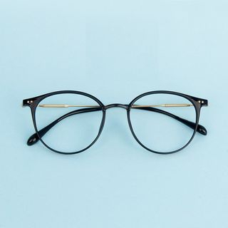 Aisyi(アイシー) - レトロラウンドフレーム眼鏡