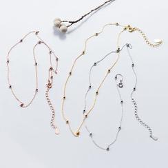 A'ROCH - 925纯银饰珠贴脖项链