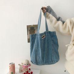 TangTangBags(タンタンバッグズ) - Washed Denim Tote Bag