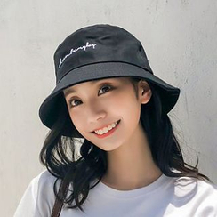 FROME - Embroidered Lettering Bucket Hat