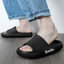 Ishanti - 字母厚底拖鞋