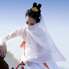 Fenix - Traditioneller chinesischer Chiffon-Gesichtsschleier