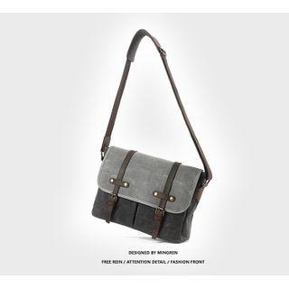 Wavecho - Water Resistant Buckled Crossbody Bag