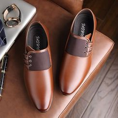 Snowpard - Genuine Leather Panel Loafers