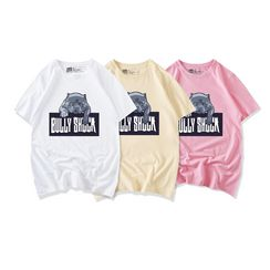 JECKO - Dog Print Short-Sleeve T-Shirt
