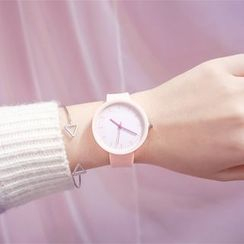 ONAJI - Set: Strap Watch + Triangle Open Bangle