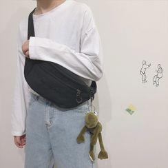 Katleon - Letter Embroidered Sling Bag