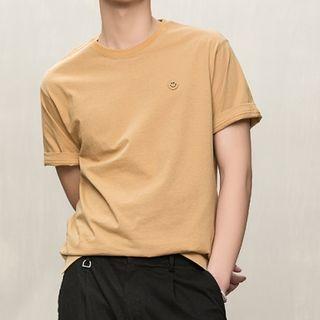 Orizzon - Applique Short-Sleeve T-Shirt