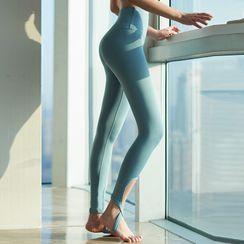 Quintina - 纯色踩脚瑜伽裤