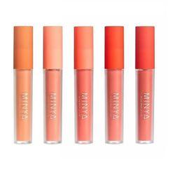 MINYA - All Day Wear Lip Coat - 5 Colors