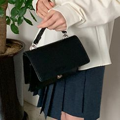 FROMBEGINNING - Chain-Strap Flap Satchel
