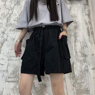 MAPOGO - Wide-Leg Cargo Shorts