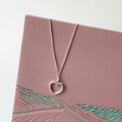 PPGIRL - Heart-Pendant Necklace